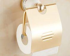 Mosadzný vintage držiak na toaletný papier v rôznych prevedeniach Toilet Paper, Vintage, Vintage Comics, Toilet Paper Roll