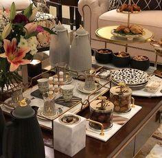 تقديمات Ramadan Decorations, Table Decorations, Table Decor Living Room, Bedroom Decor, Arabian Decor, Coffee Table Centerpieces, Brunch Table, Food Decoration, Iftar