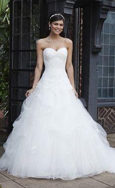 pretty wedding dress