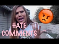 RESPONDING TO HATE COMMENTS