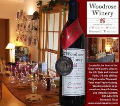 Fredericksburg Texas Online - Woodrose Winery