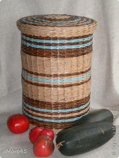 Поделка изделие Валяние фильцевание Плетение ОСЕНЬ       Бумага газетная Трубочки бумажные Шерсть фото 2