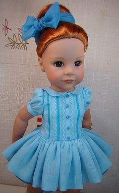 lukeria Одежда для кукол своими руками, одеваем любимых Готц, Gotz doll
