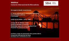 """30 de enero: Seminario gratuito vía web """"Comercio Internacional de Mercaderías"""""""
