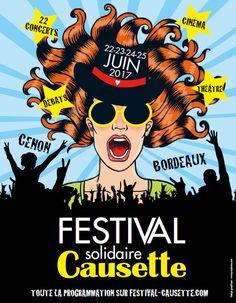 Festival Causette, du 22 au 25/06 avec Cléa Vincent, Yelle, Sônge, Sexy Sushi, Corine, Airnadette.../ CHANSON MUSIQUE / ACTUALITE