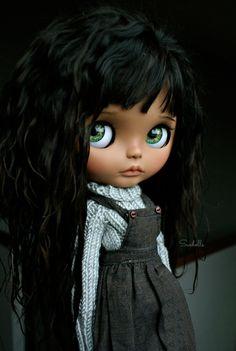 Arya - by Sue - Suedolls Ooak Dolls, Blythe Dolls, Art Dolls, Pretty Dolls, Beautiful Dolls, Bratz, Little Doll, Custom Dolls, Ball Jointed Dolls