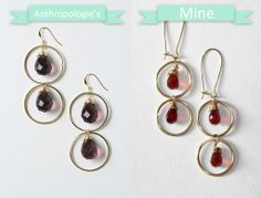 DIY – Anthropologie-Inspired Briolette Drops