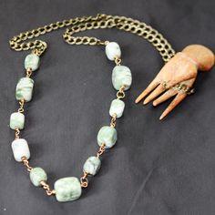 Aries Moon Necklace. $110.00, via Etsy.