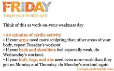 Friday Workout!
