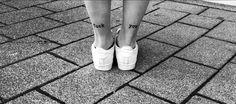 #tattoos #fuckyou #fuck #you #fuß #ferse #love #tattooart #tattoolove