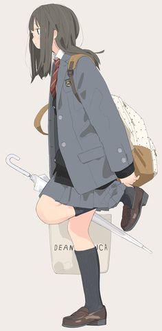 制服(オリジナル) | クマノイ [pixiv]