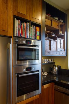 Want kitchen renovations that last? Croydon locals can call The Kitchen Design Centre on 03 9894 Timber Kitchen, New Kitchen, Cookbook Storage, Japanese Furniture, Kitchen Showroom, Overhead Storage, Japanese Kitchen, Layout, Croydon