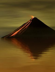 Arenal Volcano, Costa Rica -=- Never Mind the Fact that I am a Proud Costa Rican, this is a Stunning Photograph !!♥༻