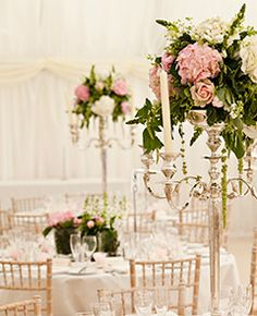 Are you thinking about having your wedding by the beach? Are you wondering the best beach wedding flowers to celebrate your union? Here are some of the best ideas for beach wedding flowers you should consider. Candelabra Flowers, Candelabra Centerpiece, Wedding Table Centerpieces, Floral Centerpieces, Wedding Decorations, Table Decorations, Centrepieces, Centrepiece Ideas, Wedding Arrangements