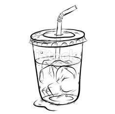 drinking glass sketches - Google Search