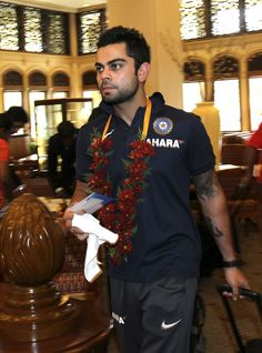 Indian team is touring Sri Lanka after a good long (much needed) break. I believe this guy (Virat Kohli) holds the key to define India's success in this Series. Get behind the team at www.betweenovers.com
