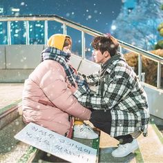 Find images and videos about love, kdrama and drama on We Heart It - the app to get lost in what you love. Swag Couples, Kpop Couples, Cute Couples, Nam Joo Hyuk Lee Sung Kyung, Jong Hyuk, Weightlifting Kim Bok Joo, Weightlifting Fairy, Drama Movies, Drama Film