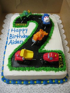 But use Car Characters; perfect for my nephews bday in October!!