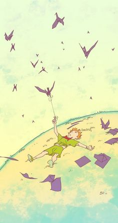 Bengal is a comic book artist born in 1976.  Discovering his vision of the Little Prince was a special moment for us. A touching tribute to both children's play (origami) and fantasy (origami come to life). Bengal has given voice to his inner child in producing this illustrated treasure. All we can say is thank you! -The litttle prince the official website