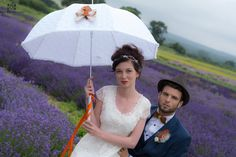 Beautiful hand decorated parasol from Lilly Dilly's, photo courtesy of R&L photography #wedding #parasol #bespoke #couture #spring #summer
