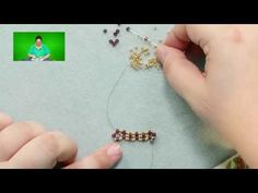 http://www.beadaholique.com/s-1567-seed-beads.aspx - In this video, learn how to do 5 bead flat horizontal netting stitch bead weaving.…