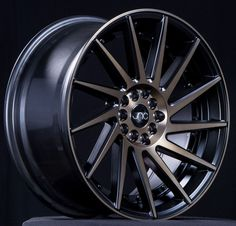 JNC wheels are a low pressure cast wheels. Low pressure casting uses positive pressure to move the molten aluminum into the mold quicker and achieve a finished product that has improved mechanical pro
