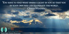 Illuminating the World with Your Light