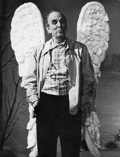 Ingmar Bergman with wings .