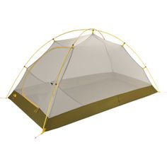 The North FaceFlint 2 Tent: 2-Person 3-Season.  Just enoughnroomfor me, my dog & essential gear!