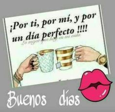 More Tutorial and Ideas Good Morning Coffee, Good Morning Good Night, Good Morning Quotes, My Coffee, Morning Thoughts, Coffee Time, Latinas Quotes, Love Is Comic, Friend Friendship