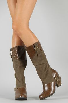 Qupid Priority-35 Buckle Riding Knee High Boot.  Definitely my favorite so far.  For now. 40 bucks