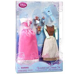 Cinderella Wardrobe  $12.50