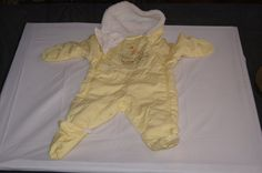 Vintage 1980's - Baby Snowsuit with a Farm by TheMercerStreetHouse on Etsy