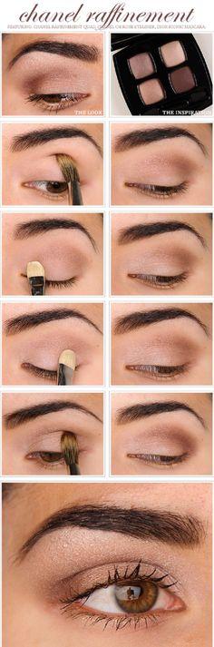 Natural Brown Eyeshadow Tutorial