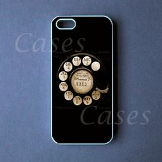Rotary phone Iphone 5 CaseRetro Iphone 5 Cover by DzinerCase, $16.99