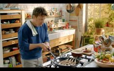 I want Jamie's kitchen, and maybe Jamie in my kitchen too.