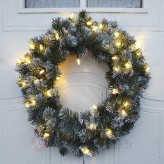 Couronne Edmonton 30 LED, 50 cm, référence 1523353- Décoration, DIY et lumière de Noël chezLuminaire.fr!