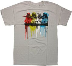 Doctor Who Color Drip Daleks T-Shirt Small @ niftywarehouse.com