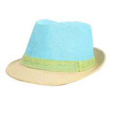 Price tracker and history of Hot Selling Summer Style Multi Colors Women  Fedora Trilby Hat Panama Brim Sun Hat Straw Cap Wholesale 1938509352d6