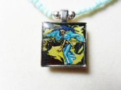 RPG video game necklace Lufia and the Fortress by ReturnersHideout, $12.50