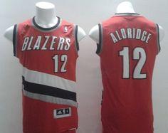 Portland Trail Blazers #12 LaMarcus Aldridge Revolution 30 Swingman Red Jersey