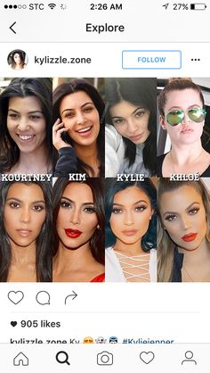 Dont play chloe like that Familia Kardashian, Kardashian Girls, Kardashian Memes, Kardashian Family, Kardashian Jenner, Kim And Kylie, Kendall And Kylie Jenner, Eyebrow Game, Go Best Friend