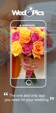 Your Weddings Guests will take a lot of photos! Ever think how you will get them all? WedPics - The #1 Photo & Video Sharing App for Weddings! Available on iPhone, Android and Web (for those using digital cameras).  Oh…and it's FREE for everyone!