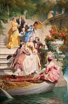 Ideas for painting portrait victorian Victorian Paintings, Renaissance Paintings, Victorian Art, Renaissance Art, Romantic Paintings, Classic Paintings, Beautiful Paintings, Art And Illustration, Illustrations