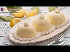 Lemon delights ( delizie al limone ) - Italian recipe, are delicious mini sponge cakes filled and topped with a smooth lemon custard, a traditional recipe of the Amalfi coast... you'll fall in love with them!