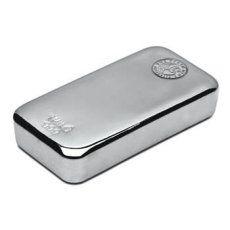 Perth Mint Silver Bar - 10 Oz - VAT FREE