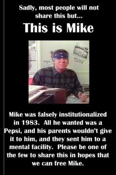 Let's help free mike