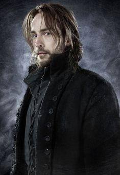 Tom Mison in Sleepy Hollow  Missed 250 years of his life gone, all made well with a bag of donut holes...