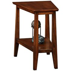 Delton Solid Wood Triangle End Table