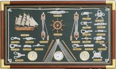 Robin's Dockside Shop - Knot Boards with Instruments